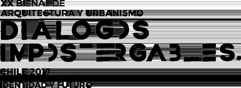 Logo bienal de chile 2017
